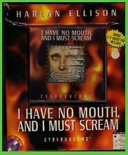 I HAVE NO MOUTH and i must SCREAM pc cd rom BIG BOX harlan ellison 1995
