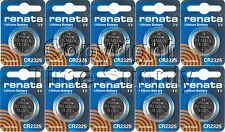 10 pc 2325 Renata Lithium Watch Batteries FREE SHIP EXPIRE DATE 08/2022