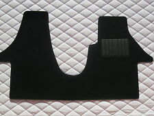 TO FIT A VW TRANSPORTER T6 2015 SWB VAN, BLACK CARPET - CUSTOM FIT 1 PIECE