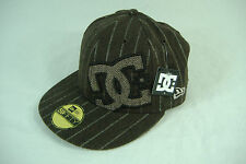 """New Era Mens DC Shoes """"Dyrdek Sooter"""" 7 Brown Fitted Hat 5950 55.8 cm $30"""