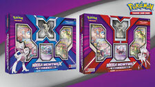 Mega MEWTWO Collection Boxes X & Y (Both) Figure - Free Shipping - New - Pokemon