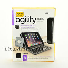 OtterBox Agility Portfolio Case Cover w/Keyboard Wall Mount for iPad Air 2 Black
