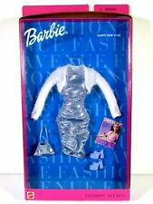 NIB BARBIE DOLL FASHION 1999 FASHION AVENUE HAPPY NEW YEAR