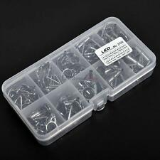 80Pcs Freshwater Ceramic Small Fishing Rod Guides Repair Tip Tops OUR#