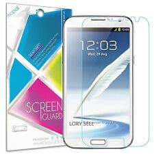 9x Samsung Galaxy Note 2 N7100 Screen Protector Anti-Glare Matte