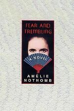 Fear & Trembling, Amelie Nothomb, Good Condition, Book