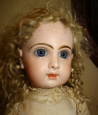 ANTIQUE BEBE JUMEAU CLOSED MOUTH SIZE 9 (20,47 INCHES) RESTORED