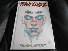 CHUCK PALAHNIUK SIGNED - FIGHT CLUB 2 - LIMITED FIRST HARDCOVER EDITION SEALED