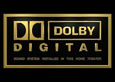Heimkino Schild / Druck - DTS - THX - Dolby Digital - Yamaha - amazon fire