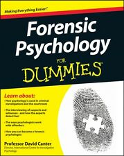 Forensic Psychology For Dummies (Paperback), 9781119976240, Canter, David D., R.