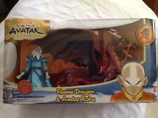 Avatar Flame Dragon & Avatar Roku Last Airbender Nickelodeon Mattel K3111 Air