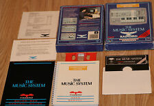COMMODORE 64 The Music system By Rainbird Synthesiser Composer Editor 5.25 disc