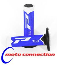 PRO GRIP 788 BLUE/WHITE/BLACK TRIPLE DENSITY MOTOCROSS GRIPS YAMAHA YZ125 YZ250
