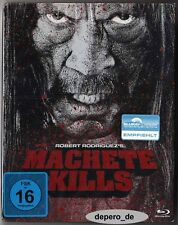 """MACHETE KILLS"" - Robert Rodriguez - BLU RAY STEELBOOK - neu/OVP - Rar OOP"