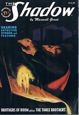 """The Shadow #93 """"Brothers of Doom"""" & """"The Three Brothers"""" Maxwell Grant PB 2015"""