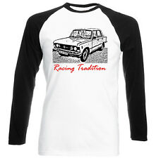 POLISH FIAT 125P 1988 RACING TRADITION P - COTTON TSHIRT - ALL SIZES IN STOCK