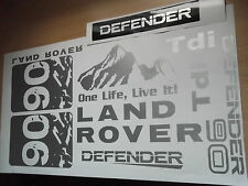 Land Rover DEFENDER Sticker set Vinyl Decal   90 TD