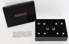 JOAN RIVERS Interchangeable Heart Pearl Stud Pierced Earring Set