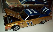 Mario Andretti 1968 Bunnell Motor Co #11 Mercury Cyclone 1/24 NASCAR Legends New
