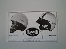 advertising Pubblicità 1972 CASCO BIEFFE MOD. IMOLA/GT 017 JUNIOR