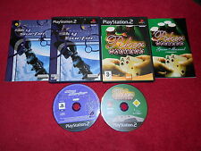 SKY SURFER & POKER MASTERS BUNDLE SONY PLAYSTATION 2 PS2 PAL VGC
