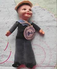 c1940 Liner Troop Ship DURBAN CASTLE Nora Wellings Cloth Sailor Doll