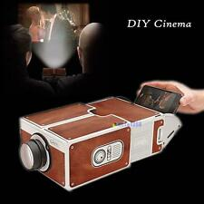 Portable Cardboard Smartphone Projector 2.0 /Assembled Phone Projector Cinema MT