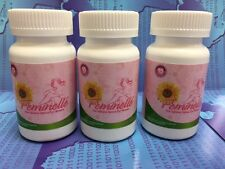 3 FEMINELLE Original Menopausia 2 Times more effective 90 caps / 3 months NEW