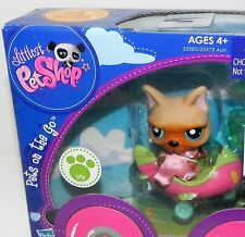 Hasbro Littlest Pet Shop Pets on the Go Dog with Airplane NIB