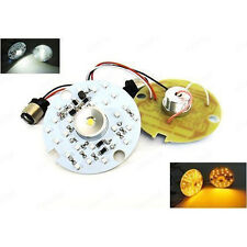1157 LED Turn Signal for Harley Daytime Running Light Touring White Amber Dual