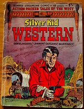 SILVER KID WESTERN-VINTAGE COMIC-68 PAGES