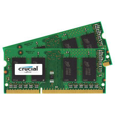 Crucial Mac 4GB Kit 2GB x2 DDR3L 1066 PC3-8500 SODIMM Memory Ram CT2K2G3S1067M
