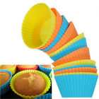 12 Soft Round Silicone Cake Muffin Chocolate Cupcake Liner Baking Cup Mold