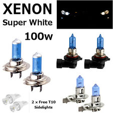 H7 H3 HB3 100w WHITE XENON UPGRADE HID FULL SET Headlight Bulbs HIGH/LOW/FOG/W5W
