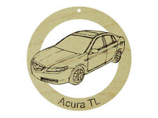 Acura TL Natural Maple Solid Hardwood Ornament Sanded Finish
