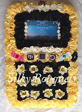 ARTIFICIAL SILK FUNERAL WREATH FLOWER FLORAL TRIBUTE MEMORIAL MOBILE I PHONE