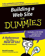 Crowder, David A. Building a Web Site For Dummies  WITH CD