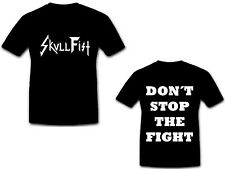 SKULL FIST - Logo - Don´t Stop The Fight - T-Shirt - Größe Size M - Neu