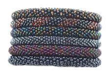 Nepal Bracelet glass Seed Bead Roll On Bracelet 6 handmade bracelet Yoga SET24