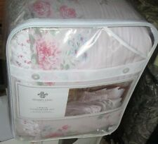 Shabby Chic Twin Comforter and sham 2PC PINK FLORAL  Rachel Ashwell NEW