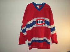 "VINTAGE CCM MONTREAL CANADIANS "" HABS "" JERSEY FROM 92-93"