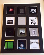 """JOY DIVISION 14"""" BY 11"""" LP COVERS PICTURE MOUNTED READY TO FRAME"""