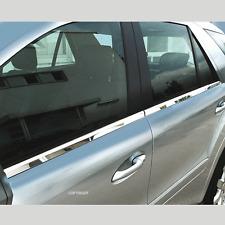 Edelstahl, Chrom Fensterleisten, Mercedes ML-Klasse W164, Bj.  2005 bis 2011