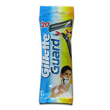10 GILLETTE GUARD RAZOR WITH GILLETTE GUARD CARTIDGE BLADE FOR EASY,SMOOTH SHAVE