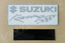 Suzuki Racing Decals Stickers for Fairing Tail x2 Premium Quality 120mm Long