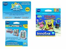 NEW VTech Learning App Download $20Gift Card & InnoTab Spongebob A Busy Day
