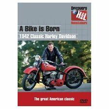 A BIKE IS BORN DVD 1942 CLASSIC HARLEY DAVIDSON