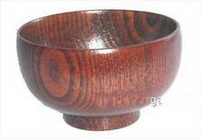 Wooden Rice Miso Soup Bowl S-1653