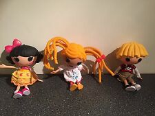 3 Large Fun Lalaloopsy Dolls Approx 12 inch