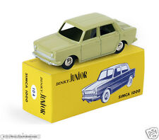 DISPONIBLE DINKY TOYS ATLAS SIMCA 1000 JUNIOR 1/43 REF 104 IN BOX NOEL 2015